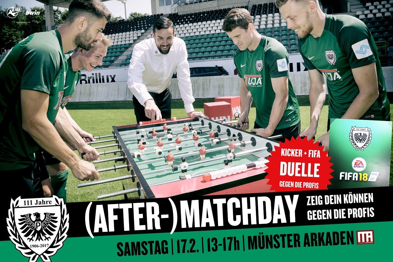 (after-) matchday MÜNSTER ARKADEN