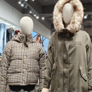 Pufferjacke bei ONLY in der Wintermode 2019 bei den MÜNSTER ARKADEN
