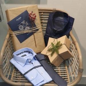 Hemden und Krawatten von Olymp als Geschenkideen der MÜNSTER ARKADEN